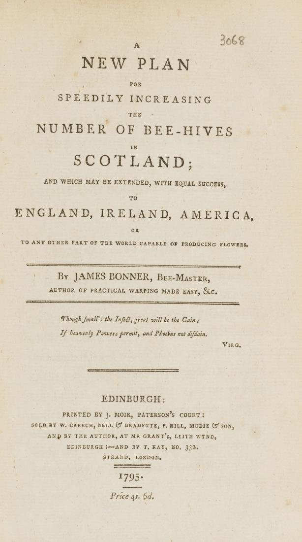 Bees.- Bonner (James) A New Plan for Speedily