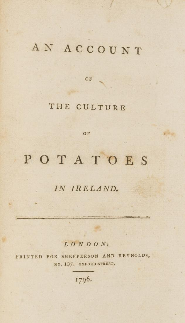 Pamphlets.- Account (An) of the Culture of Potatoes in