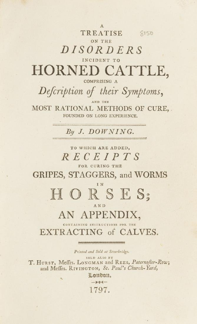 Cattle.- Downing (J.) A Treatise on the Disorders