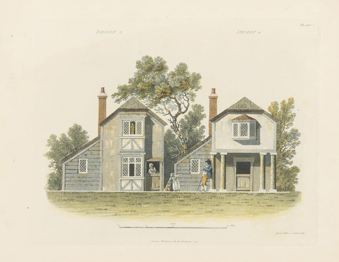 Malton (James) An Essay on British Cottage
