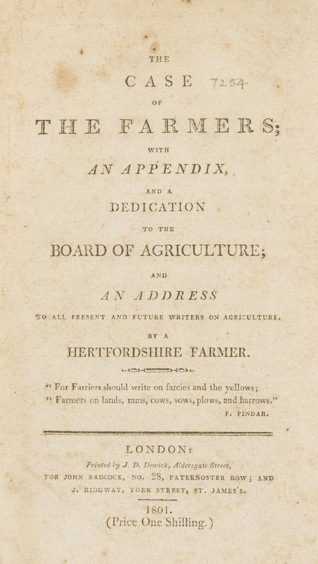 The Case of the Farmers; with an Appendiz and a