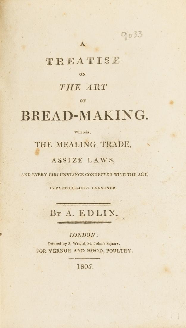Bread.- Edlin (A.) A Treatise on the Art of