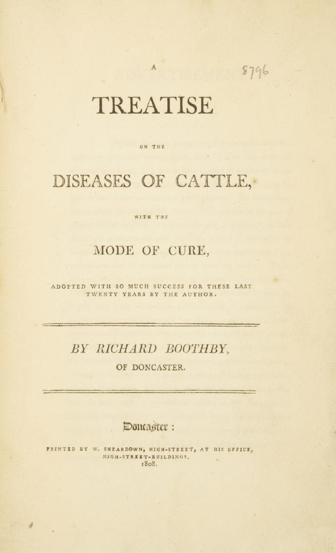 Cattle.- Boothby (Richard) A Treatise on the Diseases