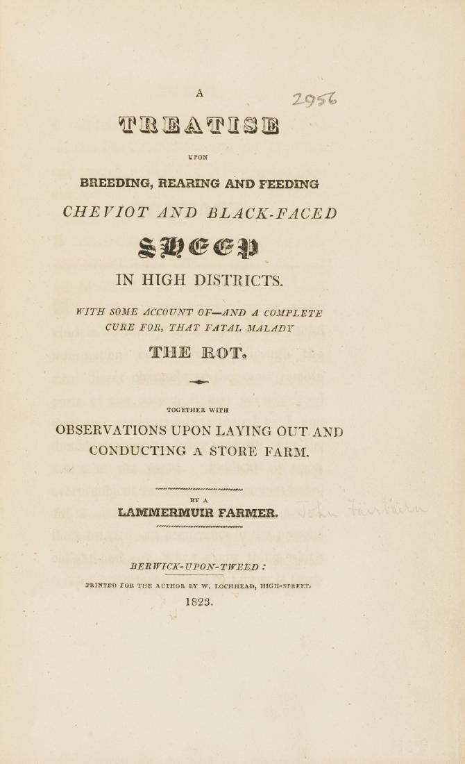 Sheep.- Fairbairn (John) A Treatise upon Breeding,