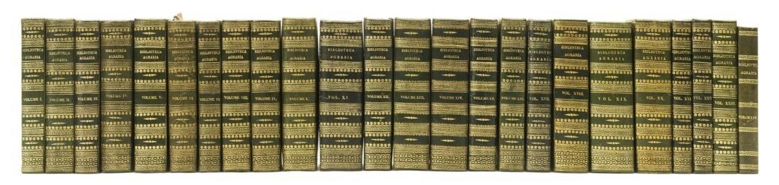 Moretti (Giuseppe, editor) Biblioteca Agraria o sia