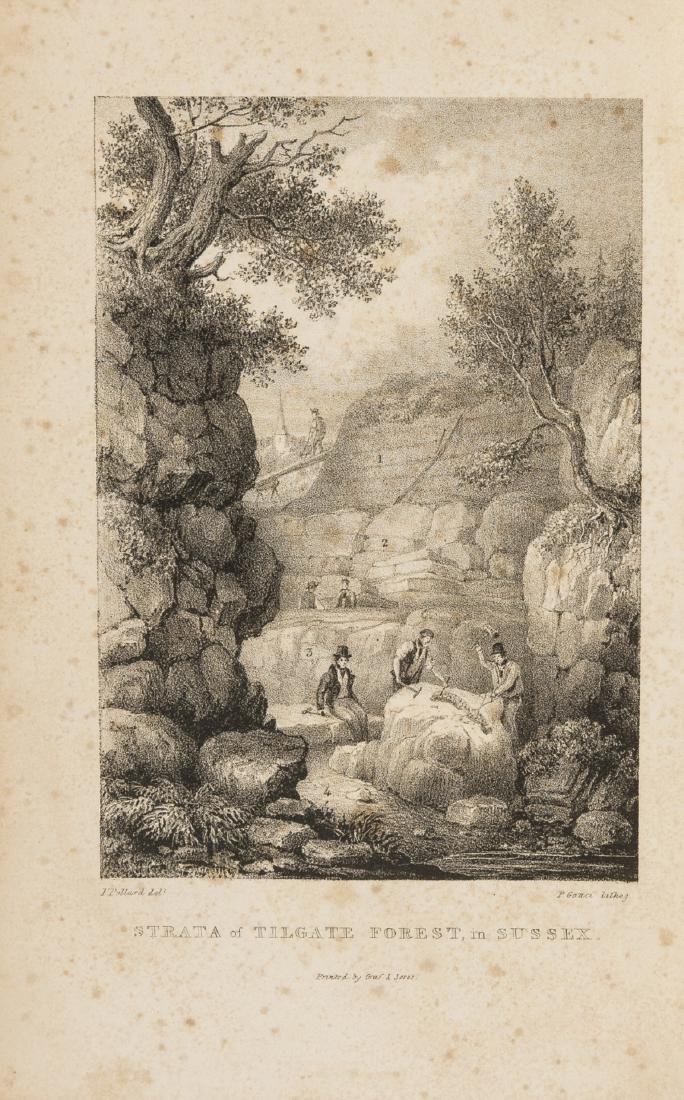 Fossils.- Mantell (Gideon) The Geology of the