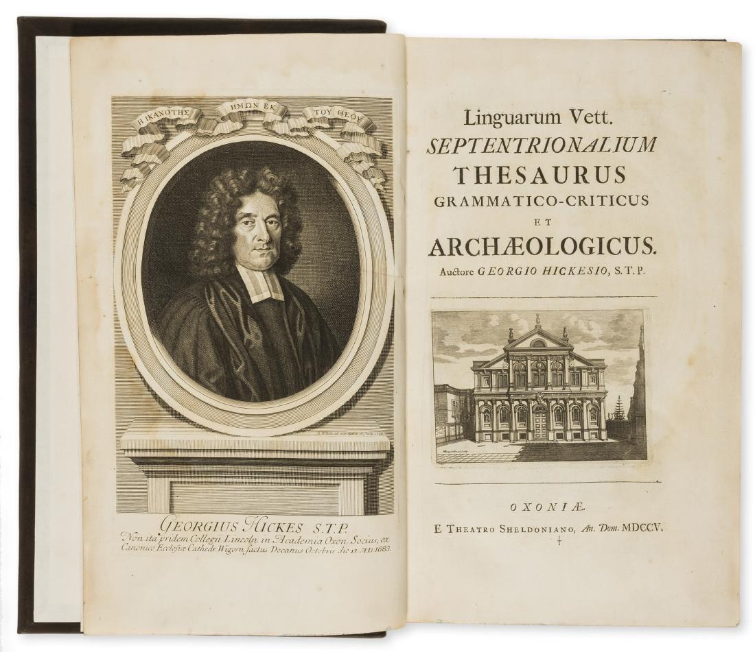 Hickes (George) Linguarum Vett. Septentrionalium