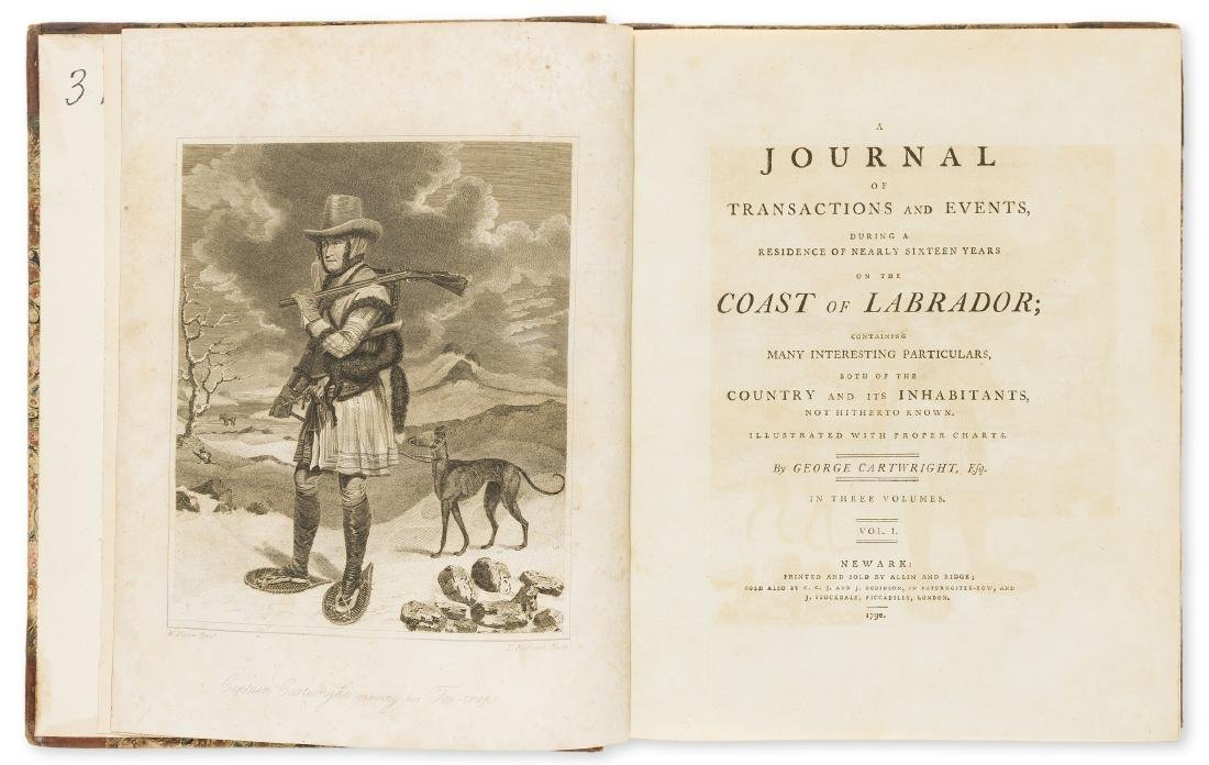 Americas.- Cartwright (George) A Journal of