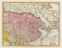 China Korea  Japan Tirion Isaac Nuova Carta dell