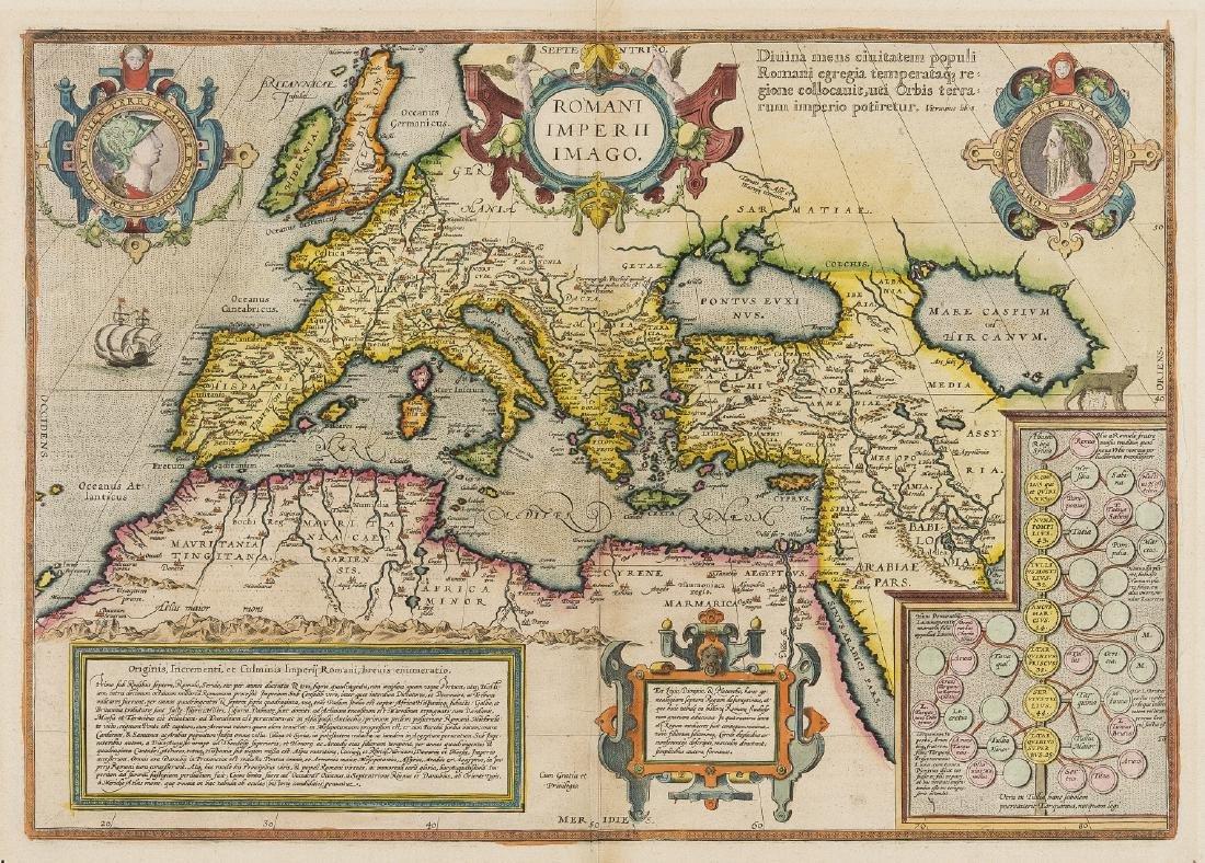 Europe.- Roman Empire.- Ortelius (Abraham) Romani