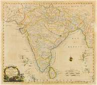 India Kitchin Thomas A New Map of Indostan or East