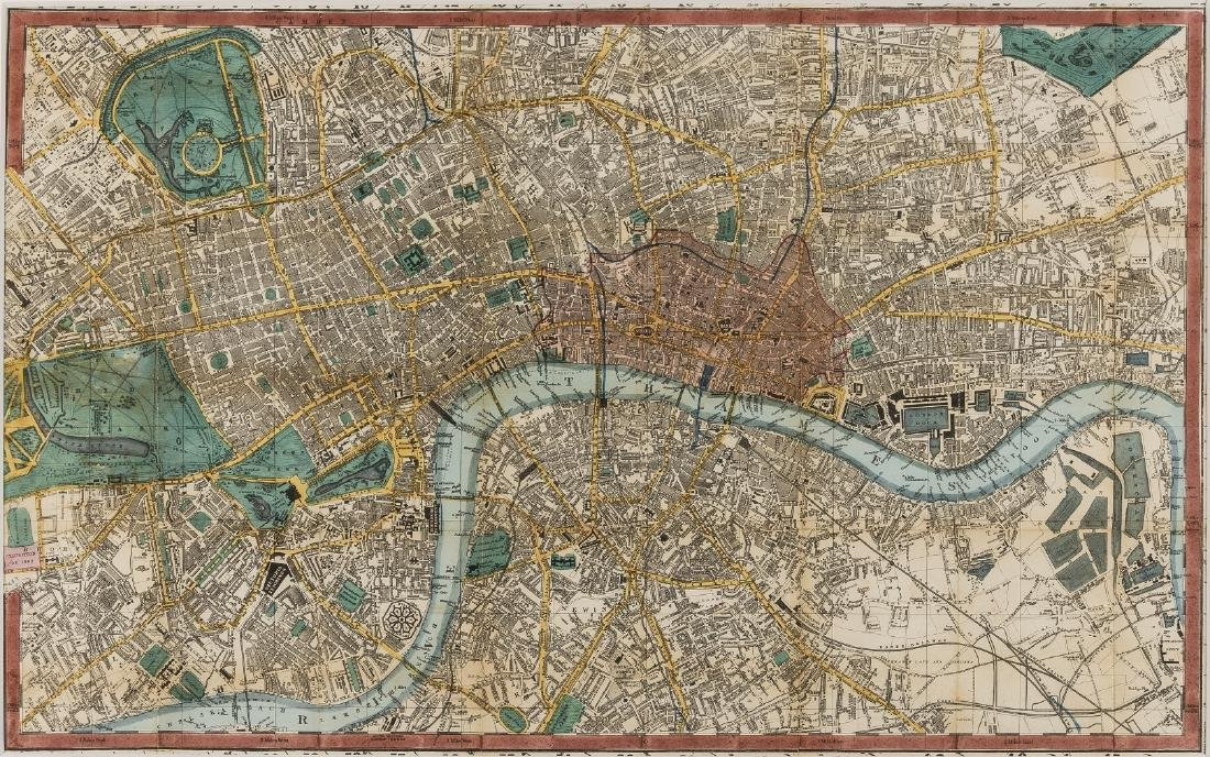 London.- Smith & Sons (Charles) Smith's Indicator Map