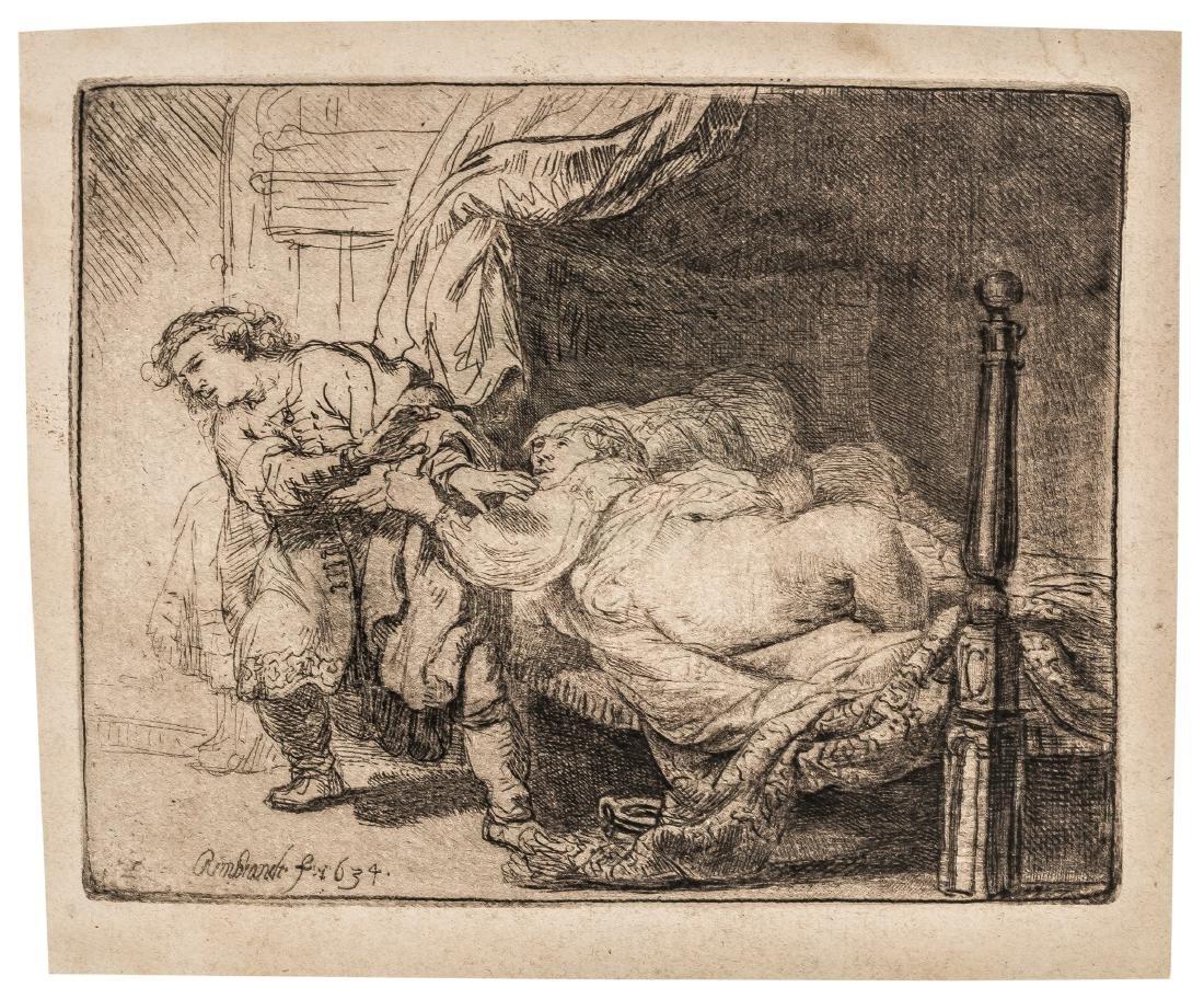 Rembrandt van Rijn (1606-1669)   Joseph and Potiphar's
