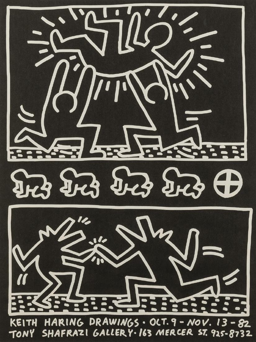 Keith Haring (1958-1990) (after)  A poster for Keith