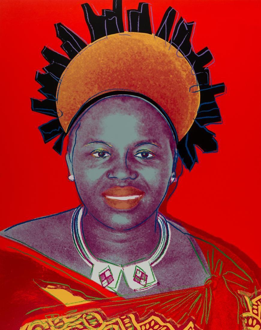 Andy Warhol (1928-1987)  Reigning Queens. Queen Ntombi