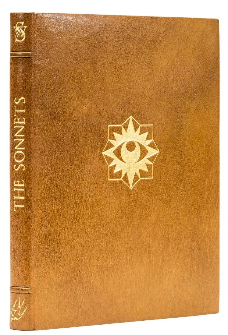 Shakespeare (William) The Sonnets, one of 300 copies,