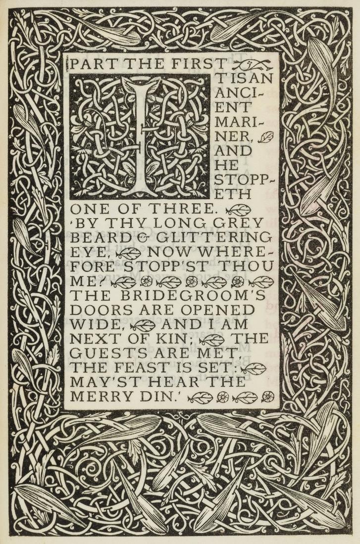 Vale Press.- Coleridge (Samuel Taylor) The Rime of the