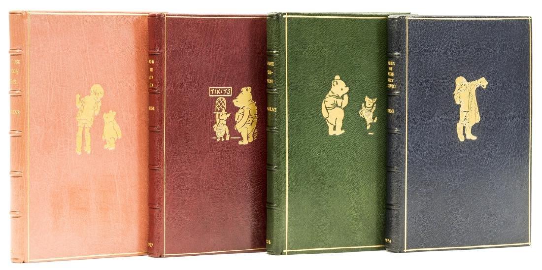 Milne (A. A.) [The Christopher Robin Books], 4 vol.,