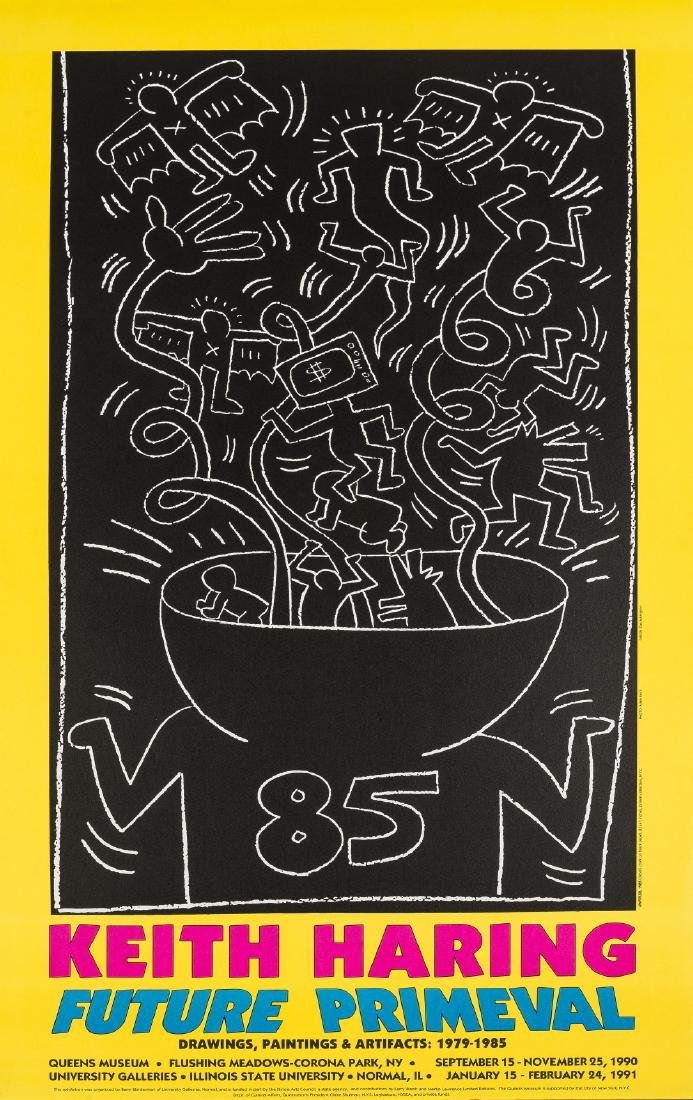 Keith Haring (1958-1990) (after)  Future Primeval