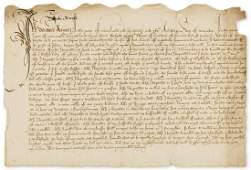 Tudor Will Last Will and Testament of Robert Atwell