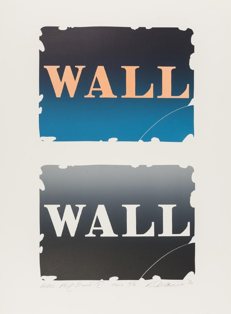 Robert Indiana (1928-2018)  Wall: Two Stone (See