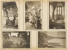 India Ceylon  Kashmir Photograph album c 460