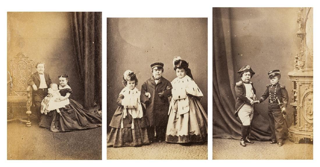 1860s photographs etc.- Album of photographs,