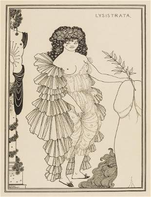 Beardsley (Aubrey).- Aristophanes. The Lysistrata, one