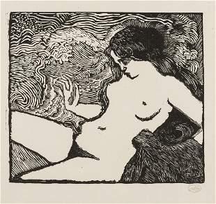 Aristide Maillol (1861-1944) La Vague (Guerin 8)