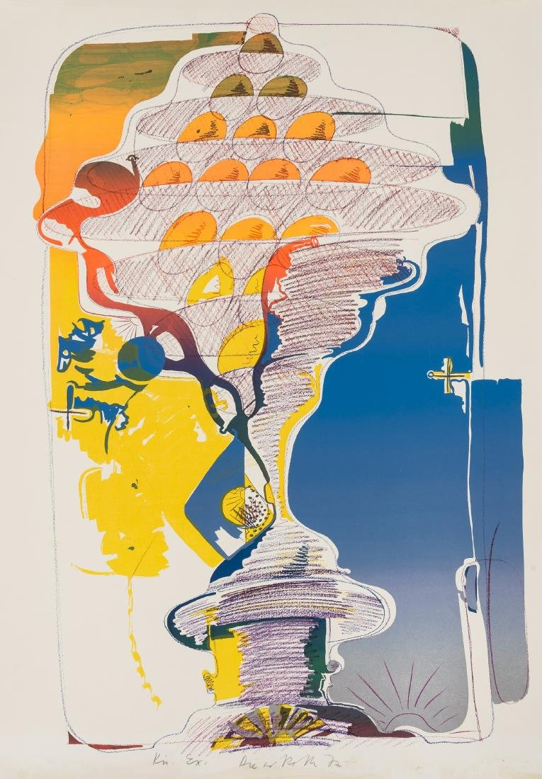 Dieter Roth (1930-1988)  Am Meer Von Hinten (By the Sea
