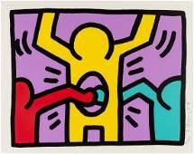 Keith Haring  19581990  Pop Shop I see Littmann