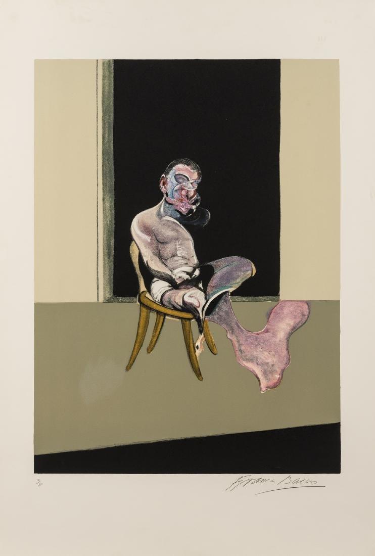 δ Francis Bacon (1909-1992)  Triptych August 1972