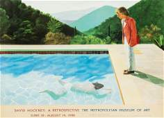 David Hockney b1937 after  A poster for