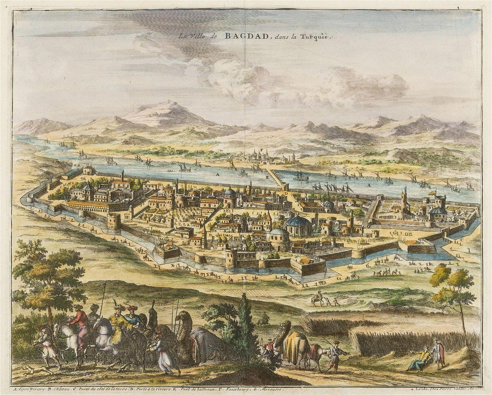 Middle East.- Iraq.- Aa (Pieter van der) La Ville de