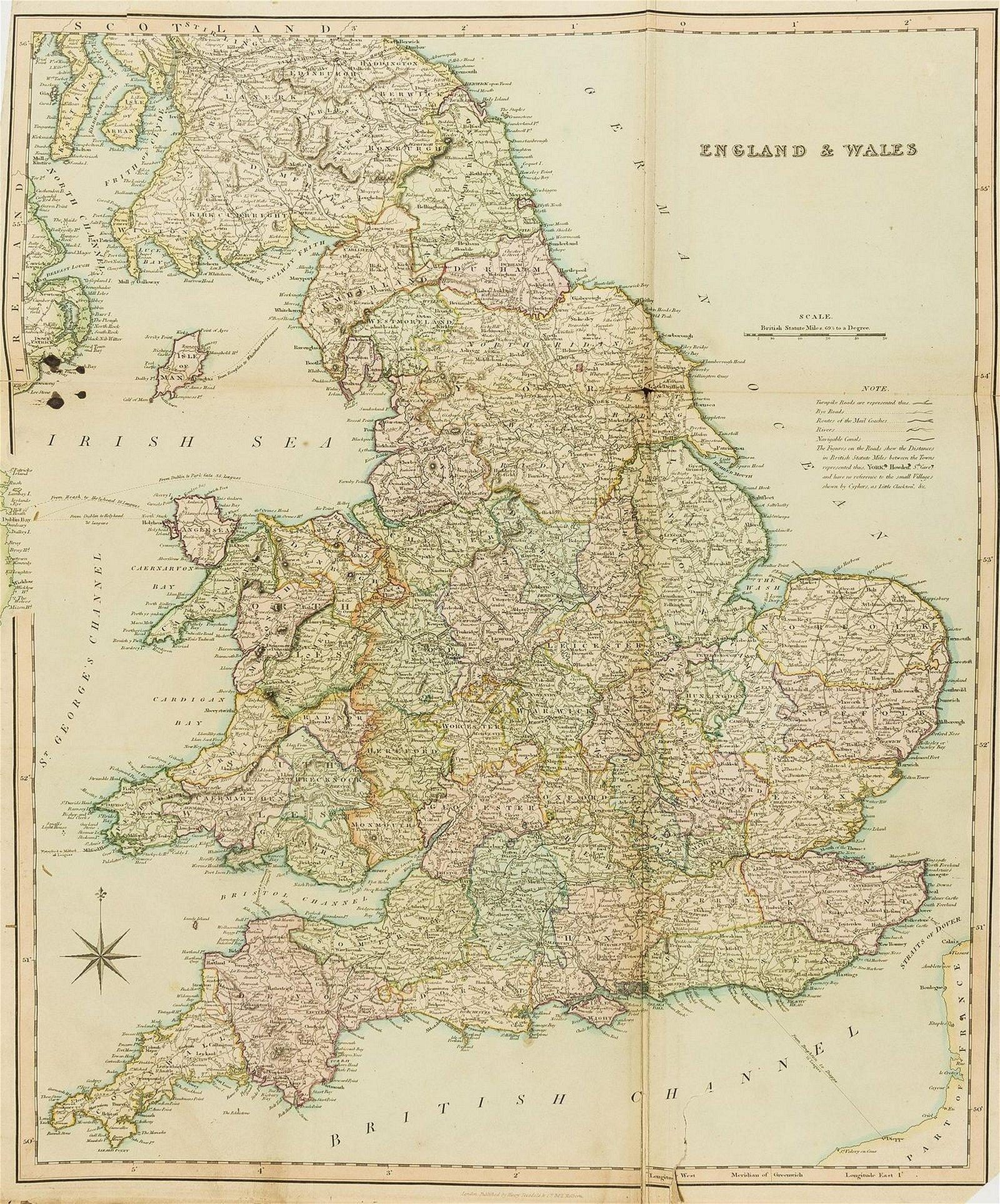 British Isles.- Teesdale (Henry) [New British Atlas,