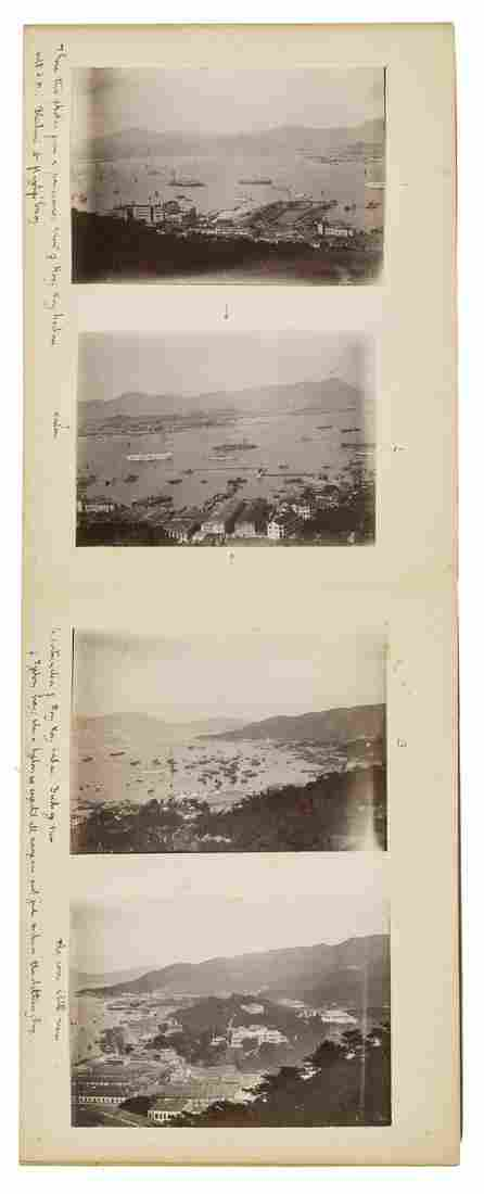 China, Japan & Singapore.- Pair of albums of naval and