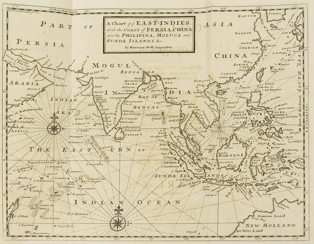 Voyages.- Osborne (Thomas) A Collection of Voyages and