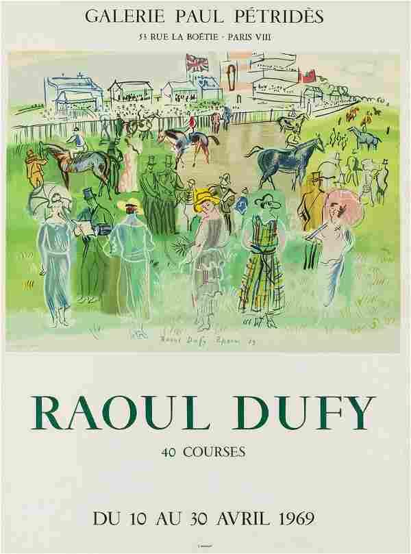 δ Raoul Dufy (1877-1953) (after) A poster for 40