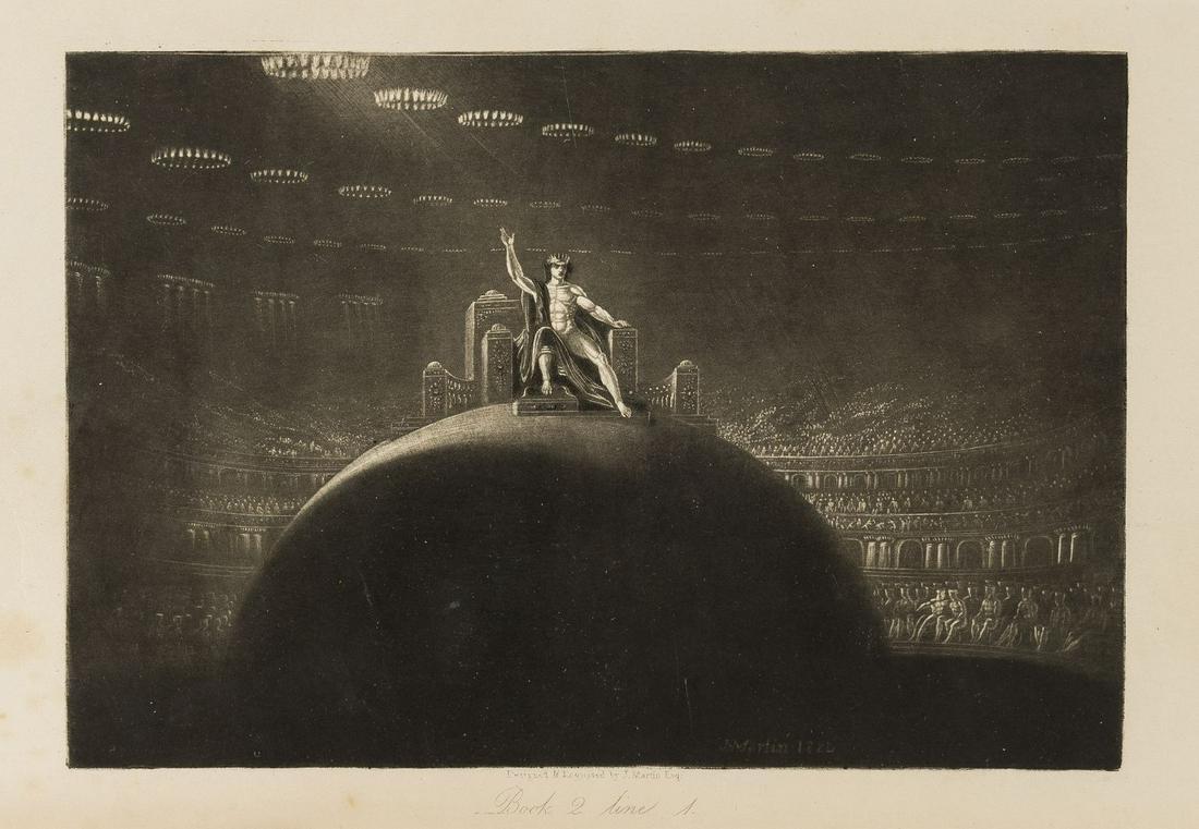 Martin (John).- The Paradise Lost of John Milton, 1853.