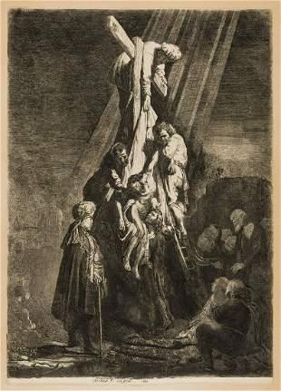 Rembrandt van Rijn (1606-1669) The Descent from the