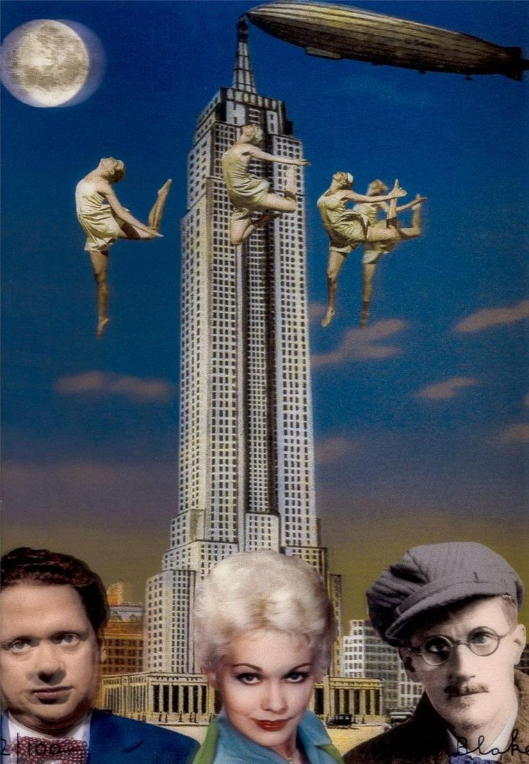 δ Peter Blake (b.1932)  New York (Dylan Thomas,