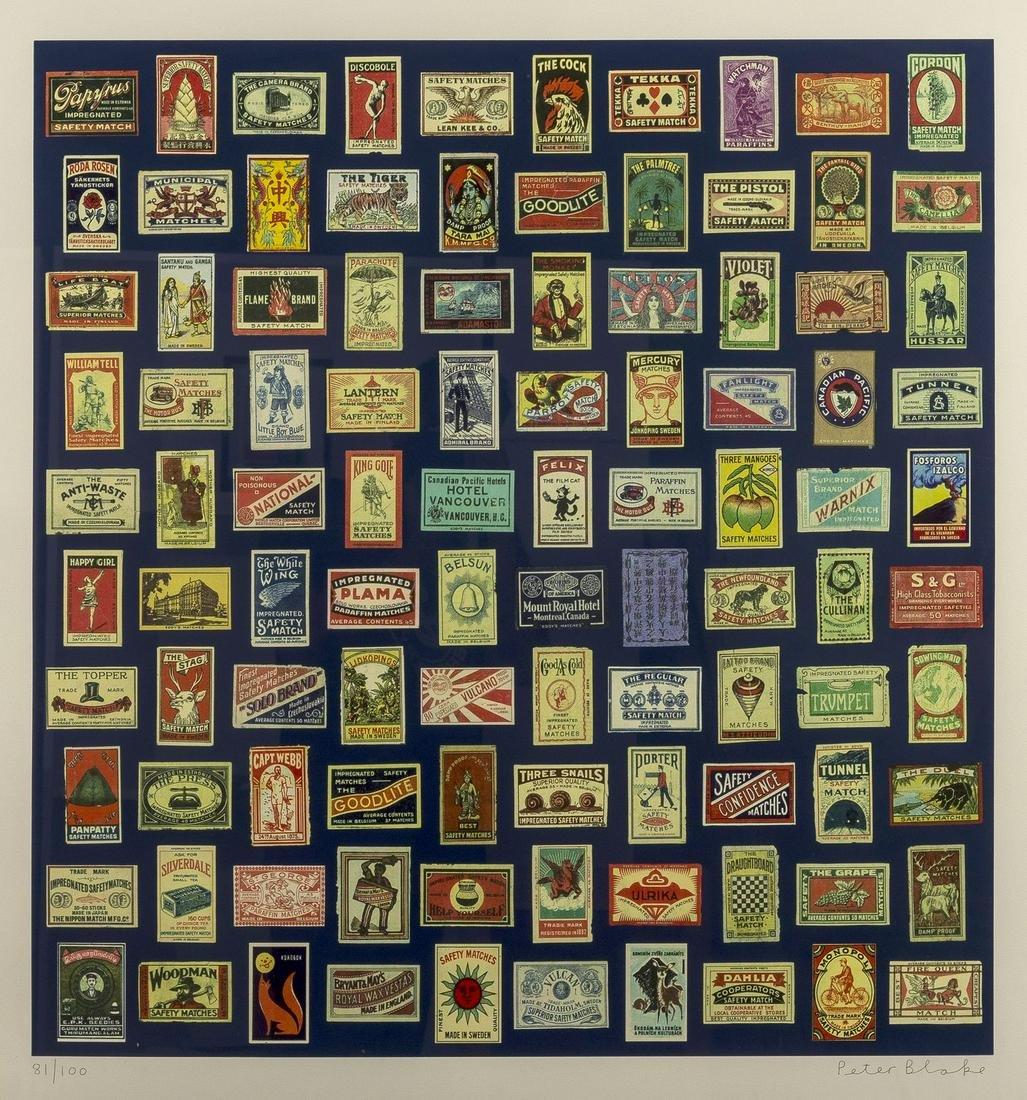 δ Peter Blake (b.1932)  Matchboxes