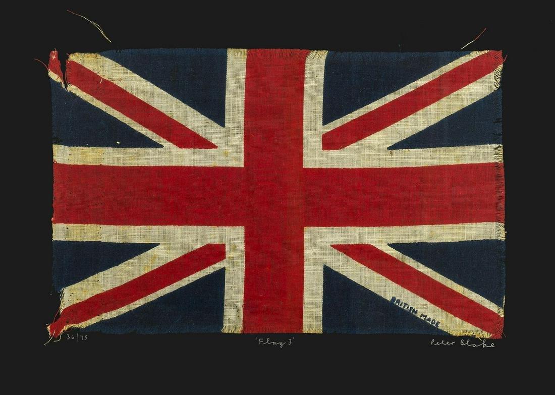 δ Peter Blake (b.1932)  Flag 3