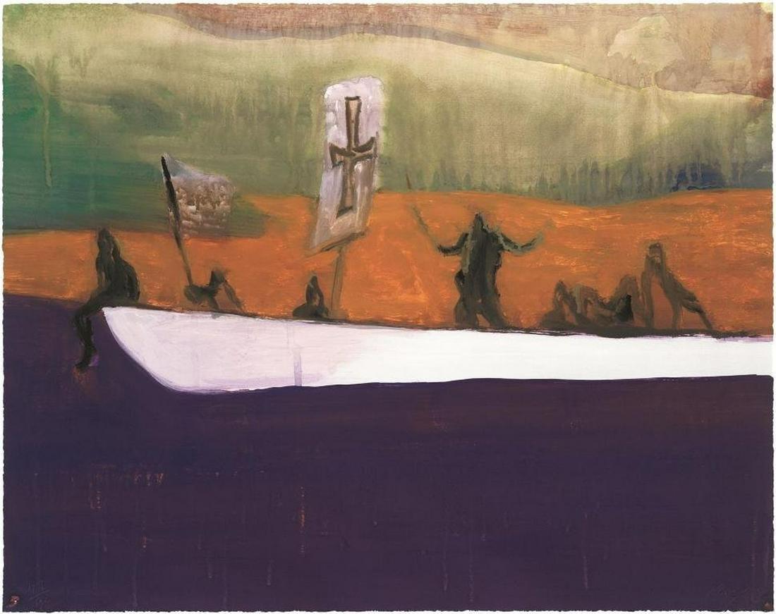 δ Peter Doig (b.1959)  Untitled (Canoe)