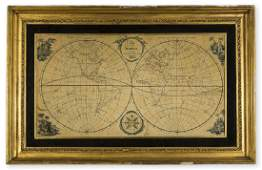 World Needlework Anonymous 1800 A Map of the