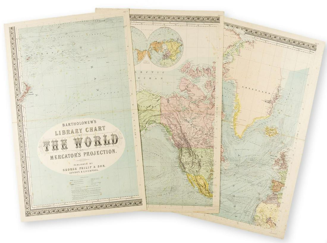 World.- Bartholomew & Son Ltd. (John) Bartholomew's