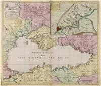 Black Sea.- Lotter (Tobias Conrad) Nova Mappa Maris