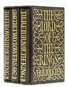 Tolkien (J.R.R.) The Lord of the Rings, 3 vol., one of