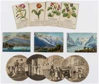 Miscellany Collection of decorative prints over 50
