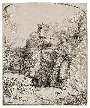 Rembrandt van Rijn (1606-1669) Abraham and Isaac